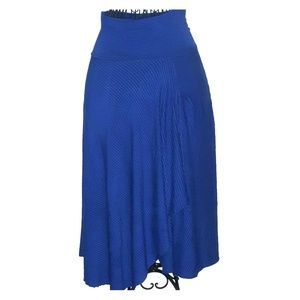 Navy skirt soft sorroundings